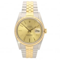 Datejust 16233 – Gents Watch – Champagne Dial - 1991