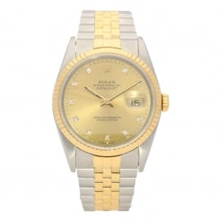 Datejust 16233 - Gents Watch - Champagne Dial - 1991