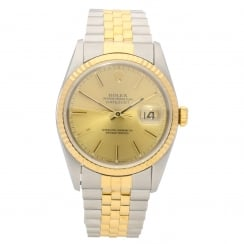 Datejust 16233 - Gents Watch - Champagne Dial - 1995