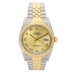 Datejust 16233 - Gents Watch - Champagne Dial - 1999