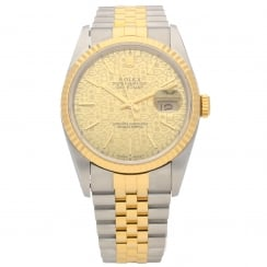 Datejust 16233 - Gents Watch - Champagne Jubilee Dial - 1992