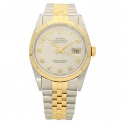 Datejust 16233 - Gents Watch - Cream Jubilee Dial - 1994