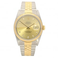 Datejust 16233 - Gents Watch - Diamond Dial - 1990