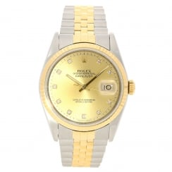 Datejust 16233 - Gents Watch - Diamond Dial - 1991