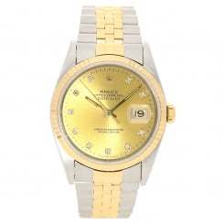 Datejust 16233 - Gents Watch - Diamond Dial - 1993