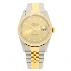 Datejust 16233 - Gents Watch - Diamond Dial - 1995