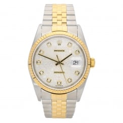Datejust 16233 - Gents Watch - Diamond Dial - 2003