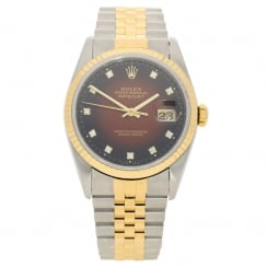 Datejust 16233 - Gents Watch – Red Dial - 1991