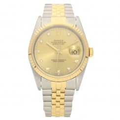 Datejust 16233 - Gold Diamond Dial - 1995