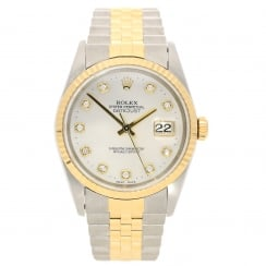 Datejust 16233 - Mother of Pearl Diamond Dial - 1995