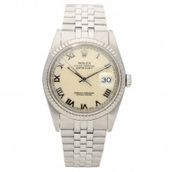 Datejust 16234 - Gents Watch - Cream Dial - 1989