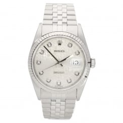 Datejust 16234 - Gents Watch - Diamond Dial - 2002