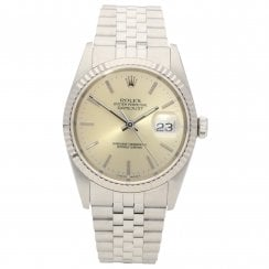 Datejust 16234 - Gents Watch - Silver Dial - 1991