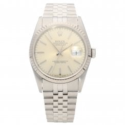 Datejust 16234 - Gents Watch - Silver Dial - 1994