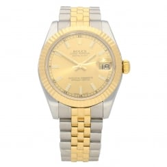 Datejust 178273 - 31mm - Champagne Dial - 2012