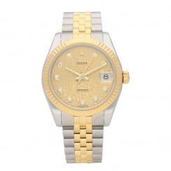 Datejust 178273 - Midsize Watch - Diamond Dial - 2007