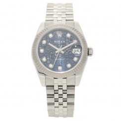 Datejust 178274 - 31mm - Blue Jubilee Diamond Dial - 2008
