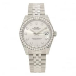 Datejust 178384 - Lady's Watch - Diamond Bezel - Unworn 2017