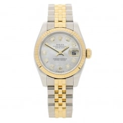 Datejust 179173 - Steel & Yellow Gold - Diamond Dial - 2005