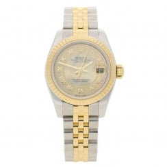 Datejust 179173 - Steel & Yellow Gold - Diamond Dial - 2007