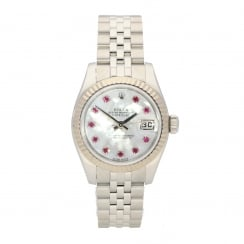 Datejust 179174 - Lady's Watch - Ruby Dial - 2010