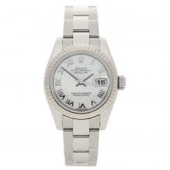 Datejust 179174 - Silver Mother of Pearl Roman Dial - 2008