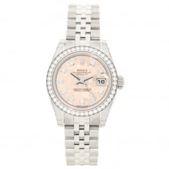 Datejust 179384 - Ladies Watch - Diamond Bezel & Dial - Unworn