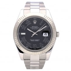 Datejust 41 116334 - Gents Watch - Grey Dial - 2008