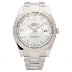 Datejust 41 116334 - Gents Watch - Silver Dial - 2016