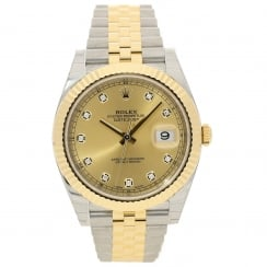 Datejust 41 126333 - Champagne Diamond Dial - Unworn