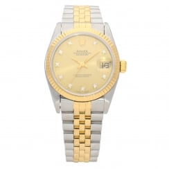 Datejust 68273 - Midsize Watch - Diamond Dial - 1993