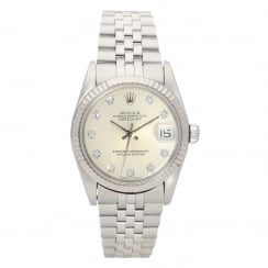 Datejust 68274 - Midsize Watch - Diamond Dial - 1991