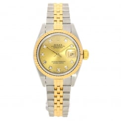 Datejust 69173 - Champagne Diamond Dial - 1993
