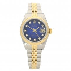 Datejust 69173 - Ladies Watch - Blue Dial - 1990