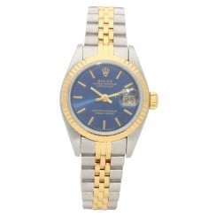 Datejust 69173 - Ladies Watch - Blue Dial - 1997