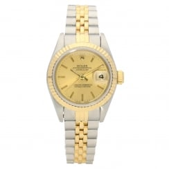 Datejust 69173 - Ladies Watch - Champagne Dial - 1995