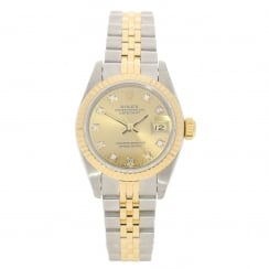 Datejust 69173 - Ladies Watch - Champagne Diamond Dial – 1991