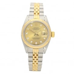 Datejust 69173 - Ladies Watch - Diamond Dial - 1990