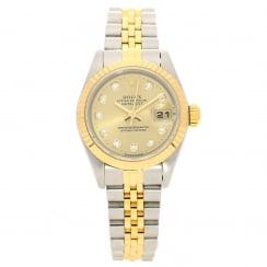 Datejust 69173 - Ladies Watch - Diamond Dial - 1995