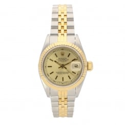 Datejust 69173 - Lady's Watch - Champagne Dial - 1990