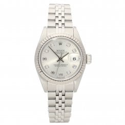 Datejust 69174 - Ladies Watch - Silver Diamond Dial - 1996