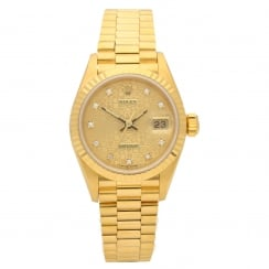Datejust 69178 - Ladies 18ct Gold Watch - 1991