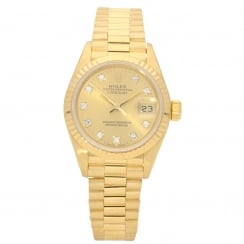 Datejust 69178 - Ladies Gold Watch - 1990
