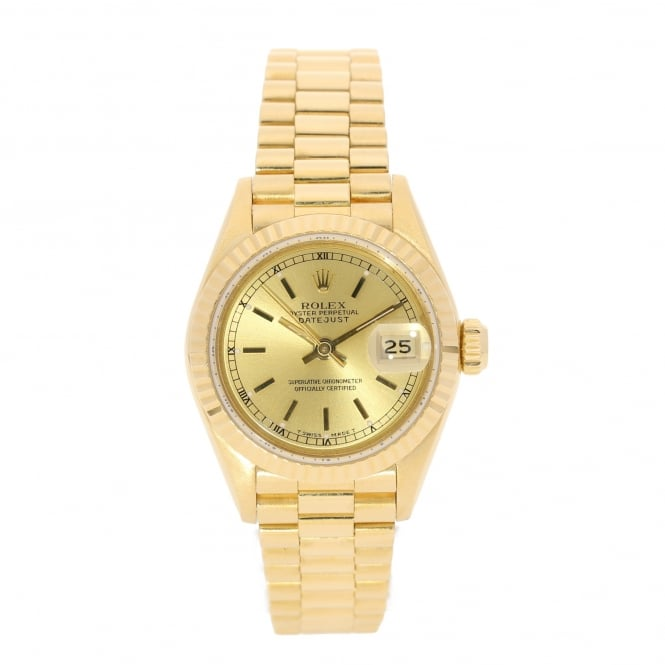 Rolex Datejust 69178 - Lady's Watch - 18ct Gold - 1989