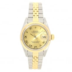 Datejust 79163 - Ladies Watch - Champagne Dial - 2001