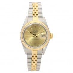 Datejust 79173 - Ladies Watch - Champagne Dial - 2001