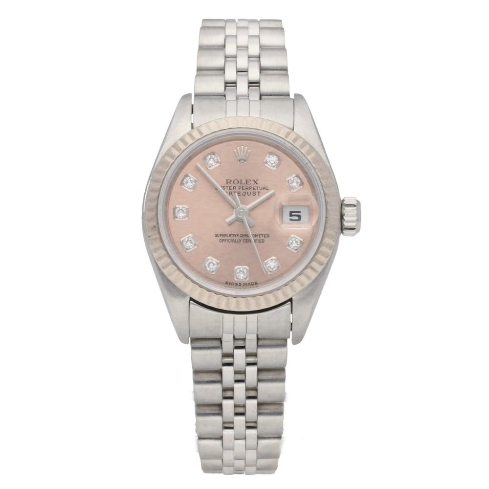 4a705c344ac Rolex Datejust 79174 - Copper Diamond Dial - 2004| Miltons Diamonds