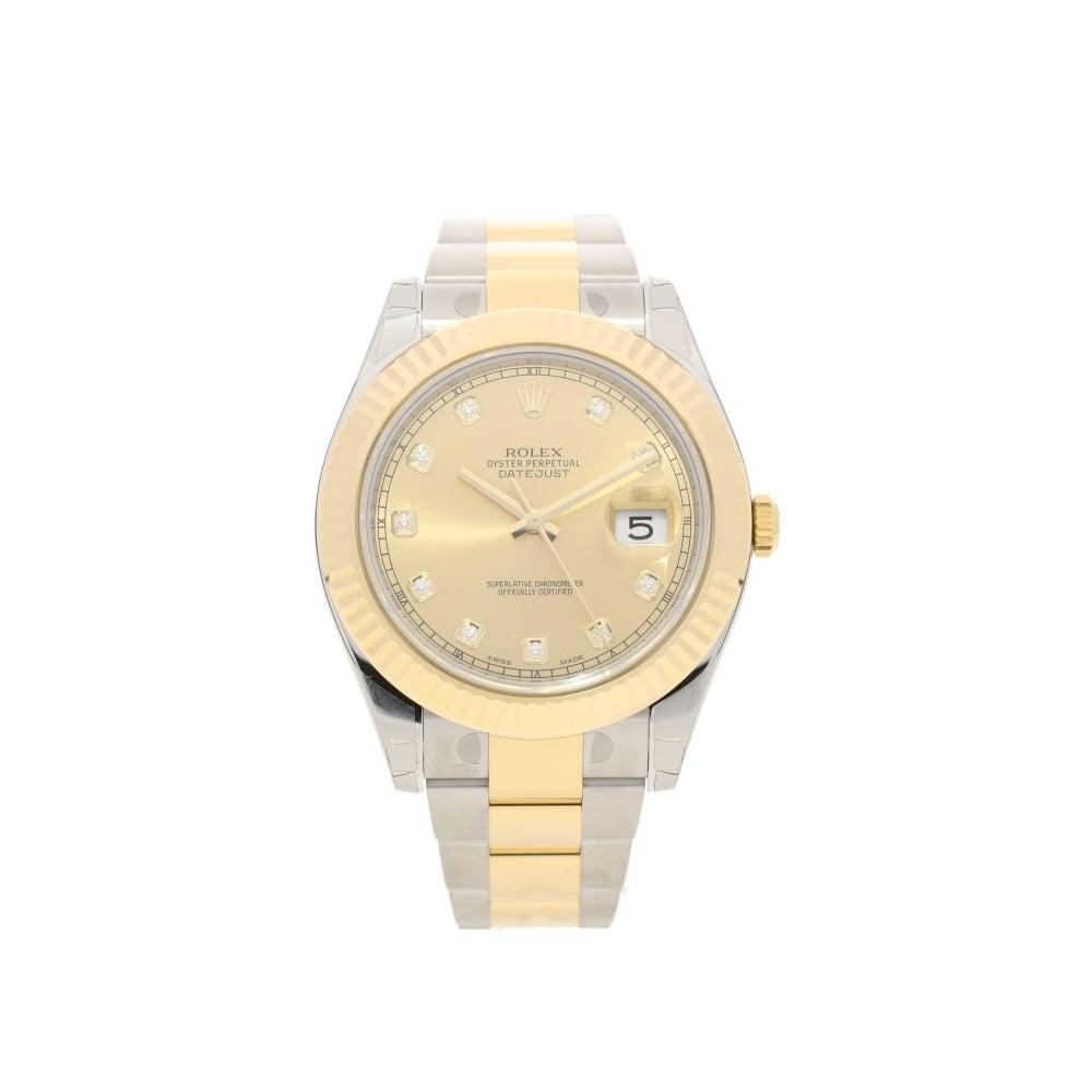 Rolex Datejust II 116333 - Gents Unworn Watch - Diamond ...
