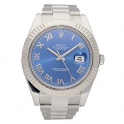 Datejust II 116334 - 41mm - Blue Dial - 2017
