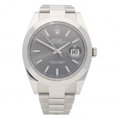 Datejust II 162300 - Gents Watch - Rhodium Dial - 2017